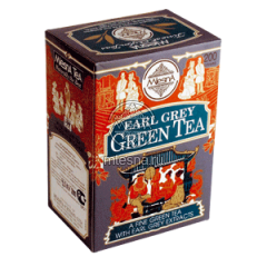 Чай зеленый «Earl Grey Green Tea» (Граф Грей) с ароматом бергамота
